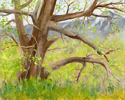 Tree Painting - Spring Is Coming by David King