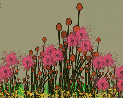 Digital Art - Spring Is Here by Janet Duffey