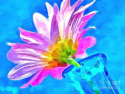 Digital Art - Spring Is Here by Krissy Katsimbras