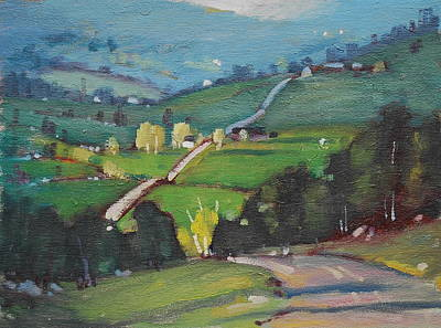 Berkshire Hills Painting - Spring Is Here by Len Stomski