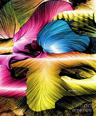 Art Print featuring the digital art Spring Is Here by Rafael Salazar