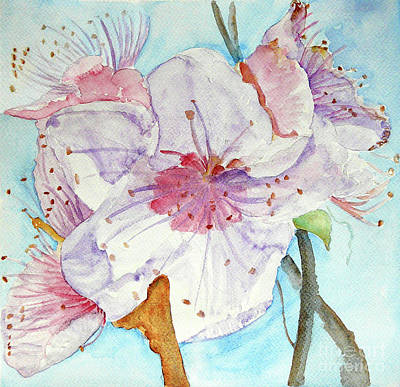 Art Print featuring the painting Spring by Jasna Dragun