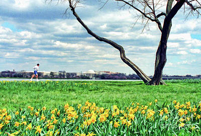 Photograph - Spring Jog On The Potomac by Allen Beatty