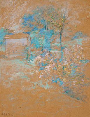 Pastel - Spring by John Henry Twachtman
