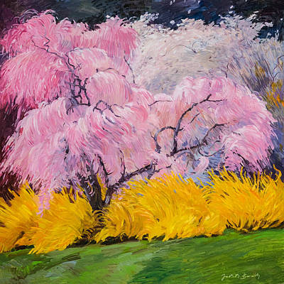 Painting - Spring by Judith Barath