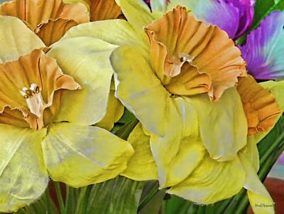 Daffodils Digital Art - Spring by Kenneth Krolikowski