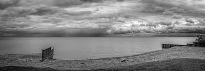 Photograph - Spring Lake Huron Bw  by LeeAnn McLaneGoetz McLaneGoetzStudioLLCcom