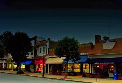 Photograph - Spring Lake  Main  Street by Rick Todaro