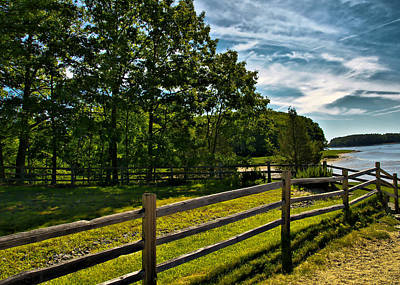 Spring Landscape In Nh 2 Art Print by Edward Myers