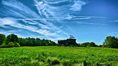 Spring Landscape In Nh 4 Art Print by Edward Myers