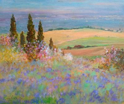 Spring Landscape - Italy Original by Biagio Chiesi