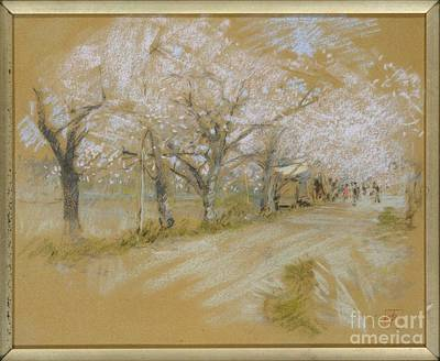 Blum Painting - Spring Landscape by Celestial Images