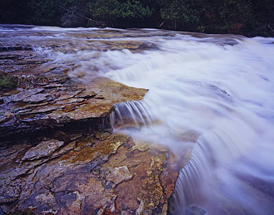 Photograph - Spring Ledges by Tom Daniel