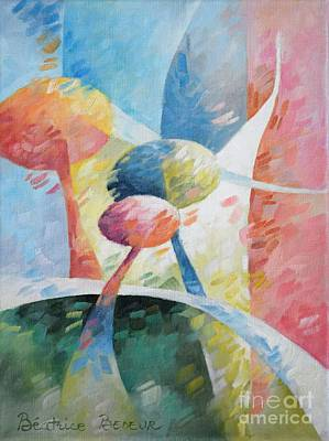 Architecture Painting - Spring Light by Beatrice BEDEUR