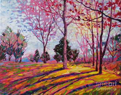 Painting - Spring Light by Celine  K Yong