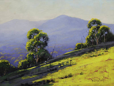 Nature Scene Painting - Spring Light by Graham Gercken