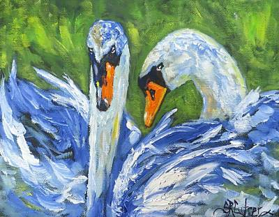 Painting - Spring Love by Sandra Reeves