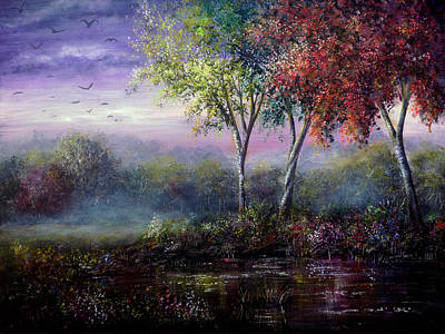 Acrylic Painting - Spring Magic by Ann Marie Bone