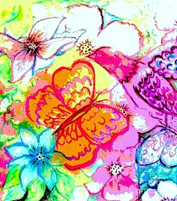 Painting - Spring Magic by Hazel Holland