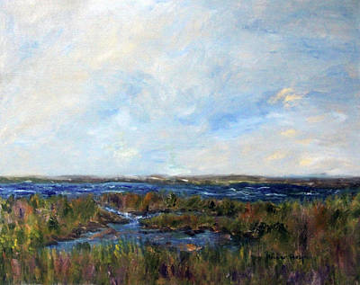 Painting - Spring Marsh by Michael Helfen