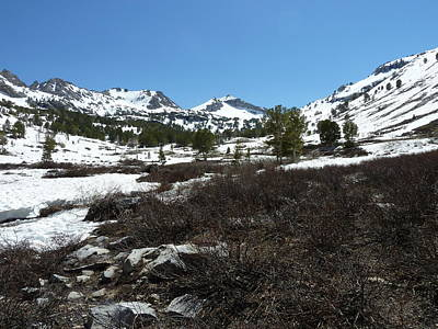 Photograph - Spring Melt In The Ruby Mountains by Joel Deutsch
