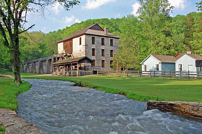 Brother Lawrence Photograph - Spring Mill by Ben Prepelka
