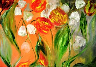 Painting - Spring Mood by Evelina Popilian