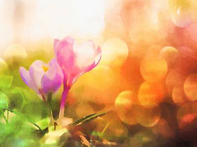 Digital Art - Spring Mood by Jennifer Hotai