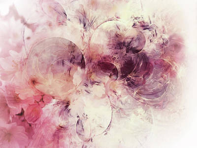 Nature Abstract Mixed Media - Spring Moods Abstract by Georgiana Romanovna