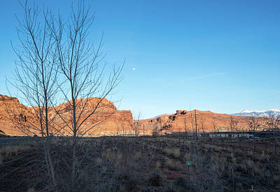 Photograph - Spring Moon Over Moab by Tom Cochran