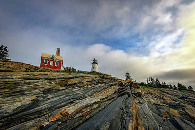 Photograph - Spring Morning At Pemaquid Point by Rick Berk