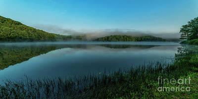 2 Solitudes Photograph - Spring Morning At The Lake by Thomas R Fletcher