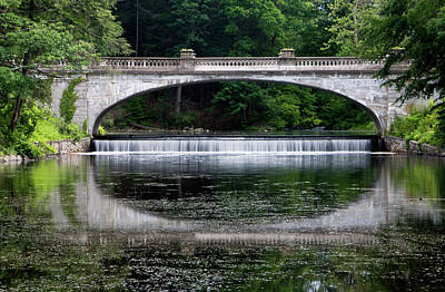 Photograph - Spring Morning At White Bridge II by Jeff Severson