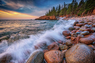 Photograph - Spring Morning In Acadia National Park by Rick Berk