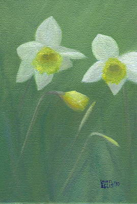 Spring Morning Art Print by Laurel Ellis