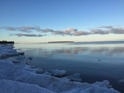 Photograph - Spring Morning On Lake Superior by Paula Brown