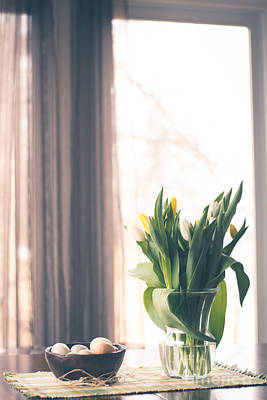 Photograph - Spring Morning Table by Cheryl Baxter