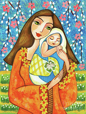 Painting - Spring Mother by Eva Campbell