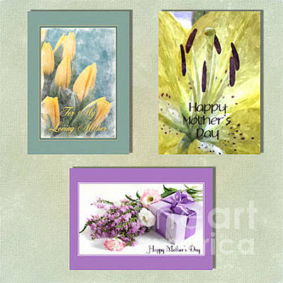 Digital Art - Spring Mother's Day by JH Designs
