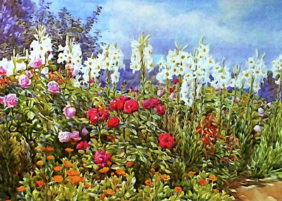 Art Print featuring the photograph Spring by Munir Alawi