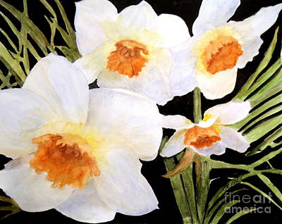Painting - Spring Narcissus by Carol Grimes