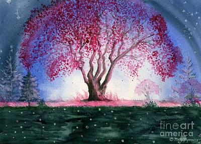Painting - Spring Night by Melly Terpening