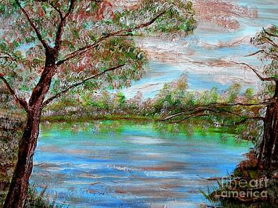 Painting - Spring On Arkansas' Greer's Ferry Lake by Vivian Cook
