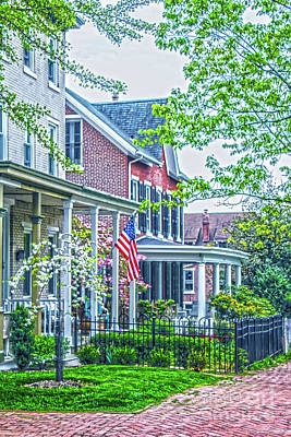 Photograph - Spring On Church Street by Sandy Moulder