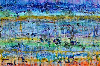 Coriolis Painting - Spring On Jupiter And Mars by Regina Valluzzi