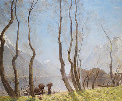 Piano Painting - Spring On Lago Di Piano by David Murray
