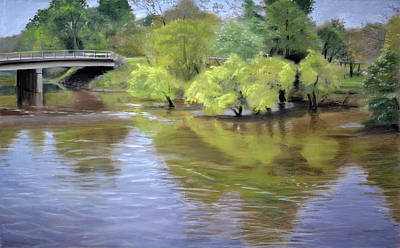 Painting - Spring On The Neuse by Christopher Reid