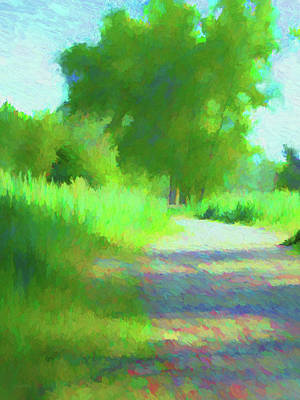 Digital Art - Spring On The Parkway by David King