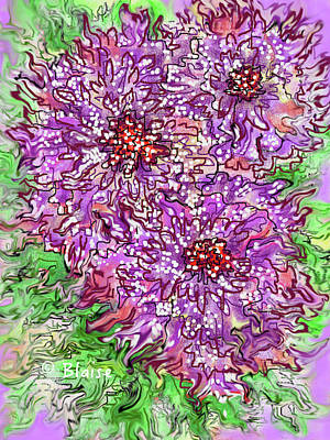 Digital Art - Spring On The Way by Yvonne Blasy