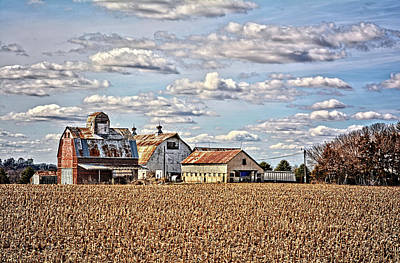 Photograph - Spring Over The Farm  by Bonfire Photography